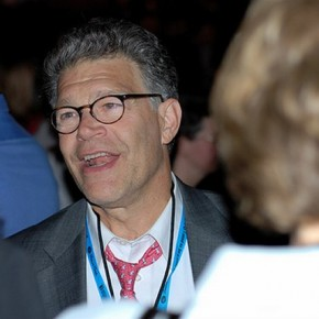 Al Franken and US Secretary of Education Visit